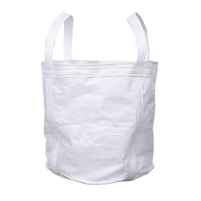 1 Ton FIBC Bulk Builders Bag Garden Waste Rubble Storage Sack Thick Bottom
