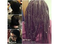 Professional dreadlocks / dreads services - maintenance, extensions, thickening