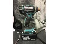❄️Makita DTD152 impact driver + 3.0ah battery❄️