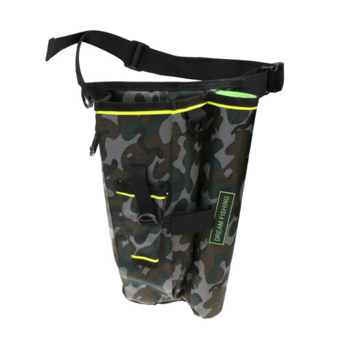 Outdoor Fishing Tactical Drop Leg Bag Pouch Waist Fanny Pack