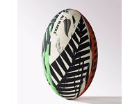 Rugby Ball - All Blacks GR - adidas, Multi Colour, New Zealand Pattern, Size 5 - NEW