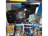 Nintendo WiiU console & games bundle