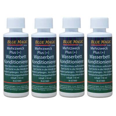 Wasserbetten Konditionierer Wasserbett Pflege Conditioner Blue Magic 4x 118 ml