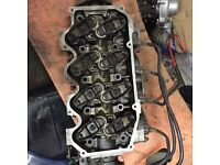 Escort Rs turbo cylinder head complete with injectors
