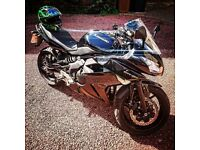 2012 kawasaki er6f, brilliant condition, nimble perfect first bike