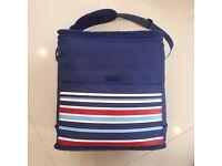 Lovely Large Blue Picnic Cooler Bag