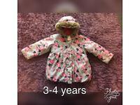 3-4 years girls coat