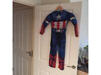 Super hero costume, captain America