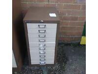 10 drawer filing unit
