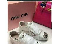 MIUMIU SNEAKER White