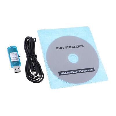 8 In 1 Phoenix Software RC USB Flugsimulatorkabel Für Flug Verbesserte gebraucht kaufen  Versand nach Germany