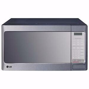 LG Countertop Microwave LMC1195st - 1.1 Cu. Ft. - Stainless Steel