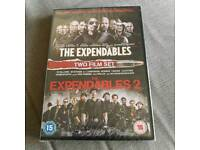 The Expendables / The Expendables 2 box set