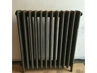 Victorian Cast Iron Radiator 11 Fins - Floor Standing