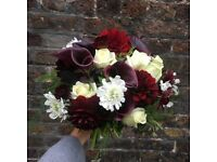 Freelance florist, wedding, events, private functions