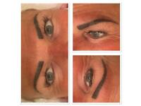 Semi permanent Brows