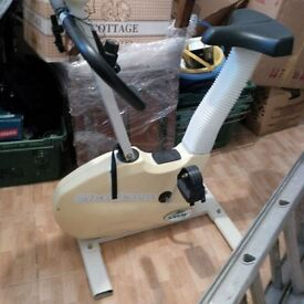 Exercise Bike, small but effective has had some use but its in good working order