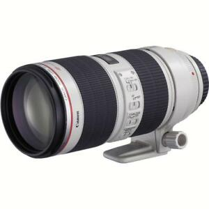 Brand new canon EF 70-200mm f/2.8L IS lll USM