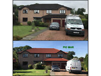 PIOMAR Pressure Cleaning Services. Driveway-Patio-Decking-Roofs Cleaning & Restoration