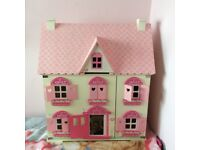 Early Learning Centre Wooden Dolls House