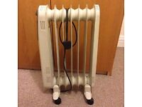 Oil Filled Challenge Radiator - 1.5kw free standing