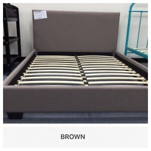 BRAND NEW Modern Fabric CARINA BED FRAME all sizes DELIVERY EXTRA Reservoir Darebin Area Preview