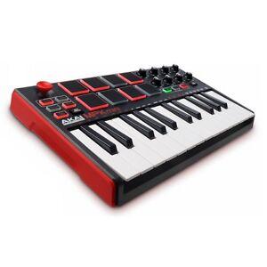 Akai MPK mini MKII | USB/MIDI Keyboard + MPC Pads | USB/MIDI Controller | NEU