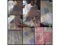 Baby crochet kitten blanket