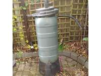 Water barrel to connect to downpipe to collect rain water