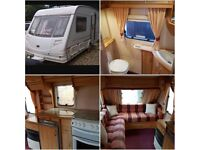 Sterling Eccles Amber caravan 2001