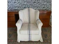 Armchair on Castors