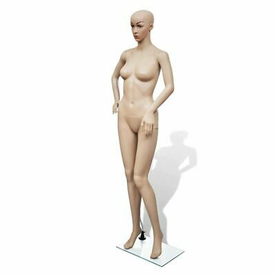 Vidaxl Female Mannequin Full Body Realistic Display Head Turn W Base Model