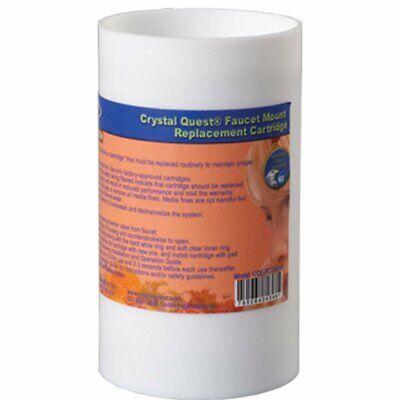 Faucet Mount Filter Cartridge Crystal Quest Faucet Mount