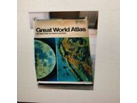 LARGE WORLD ATLAS
