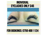 INDIVIDUAL EYELASH EXTENSIONS, MICROBLADING £80, SEMI PERMANENT MAKEUP £90, OMBRÉ EYEBROWS IN ANGEL