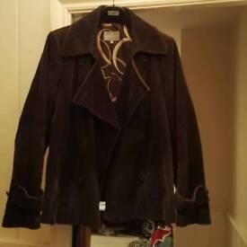 Ladies chocolate coloured jacket