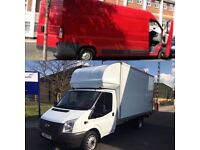 24-7 Man and Van House Moving Piano Delivery Rent Removal Luton Truck ,Clearance