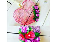 HANDMADE WEDDING HOME PRESENT DECORATIONS