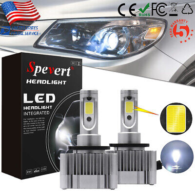 D1S D3S LED Headlight Conversion Kit Car Fog Bulb Replace Halogen HID Xenon Lamp