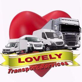 LOVELY TRANSPORT SERVICES. MAN &VAN SERVICES., TOTTENHAM,EDMONTON,BARKING,EAST HAM,BARKING,LAYTON..