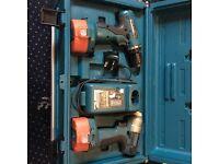 Makita 6935 & Makita 6280 + 3 Bat+ Charger+ Carry case