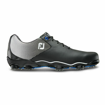 New in Box Footjoy DNA Helix Men's Golf Shoes, Style #53318, Black and (Men In Tweed)