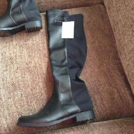 Brand new pair of over the knee boots