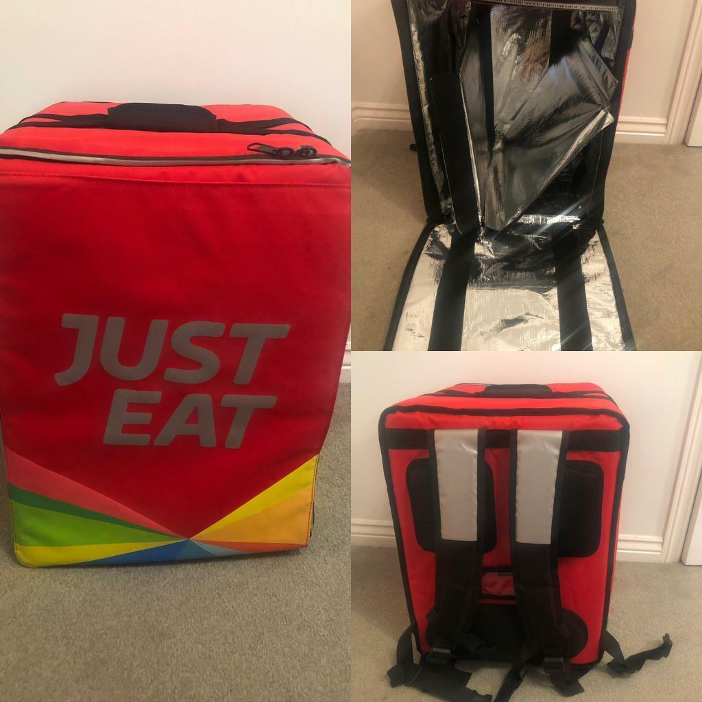 Just Eat Thermal Delivery Bag In Norwich Norfolk Gumtree