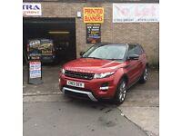 Lovely Range Rover evouge sd4 2013 low miles tops pec