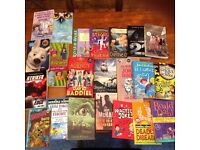 Children's books. Age group 8-12ys approx.