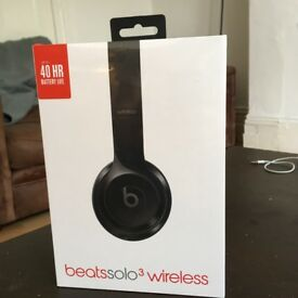 Brand NEW and unopened, Beats Solo3 Wireless, Black