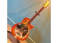 Fender FR50 Hybrid-Electro Resonator VGC w/HD-Padded Gig Bag