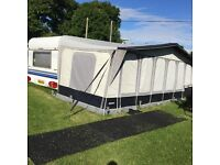 Hobby caravan for sale twin axle 5 berth fixed bed 2006