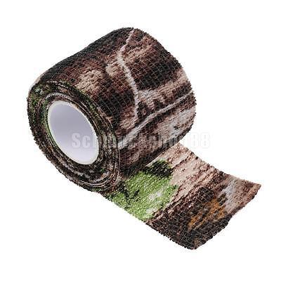 Outdoor Tarnband 5cmx2.2m im Freien Jagd Camo Tape Gewebeband selbsthaftend